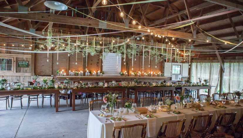 Rustic-wedding-setting