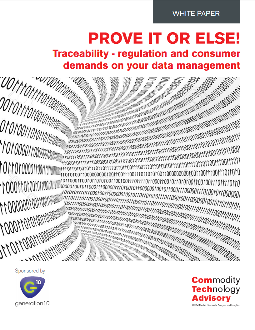 Traceability regulation and consumer demands