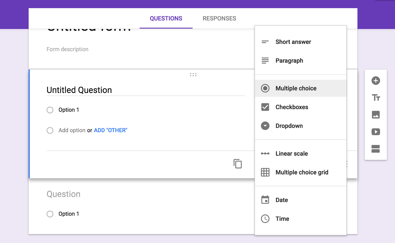 google forms reports