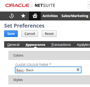 netsuite tips and tricks