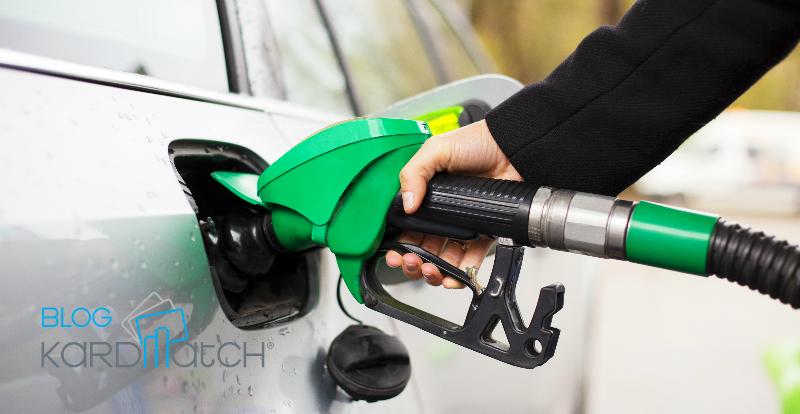 El recuento del gasto de la gasolina personal avto