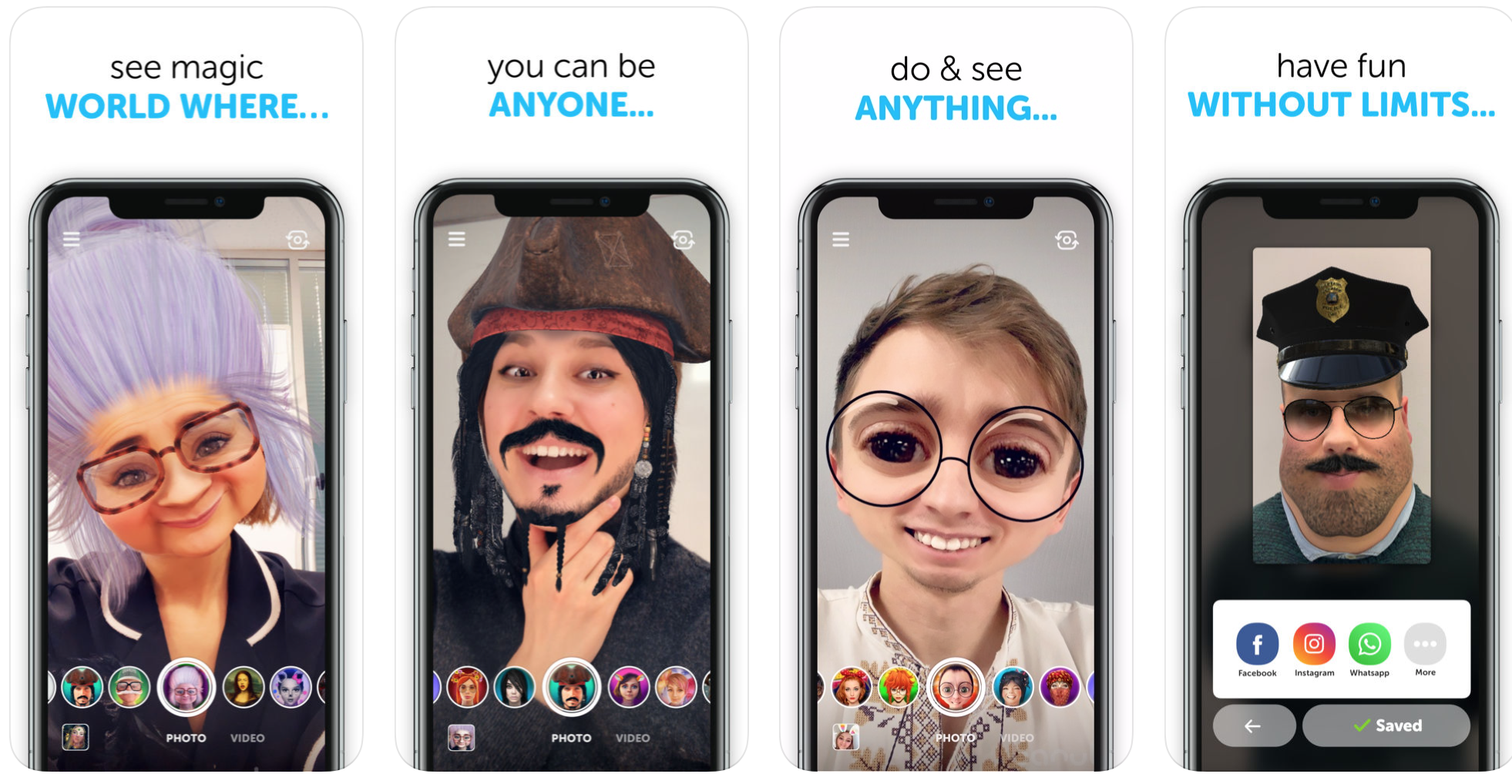 10 Best Face Filter Apps Like Snapchat To Spark Your Creativity [2019]