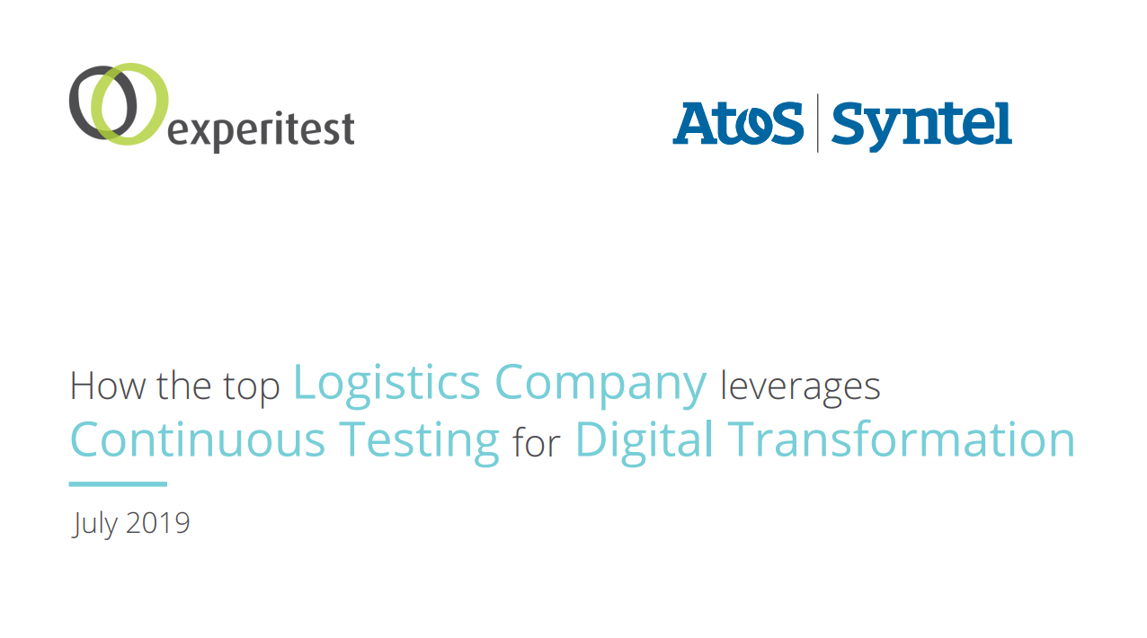 How to Leverage Continuous Testing for Digital Transformation (Webinar on demand)