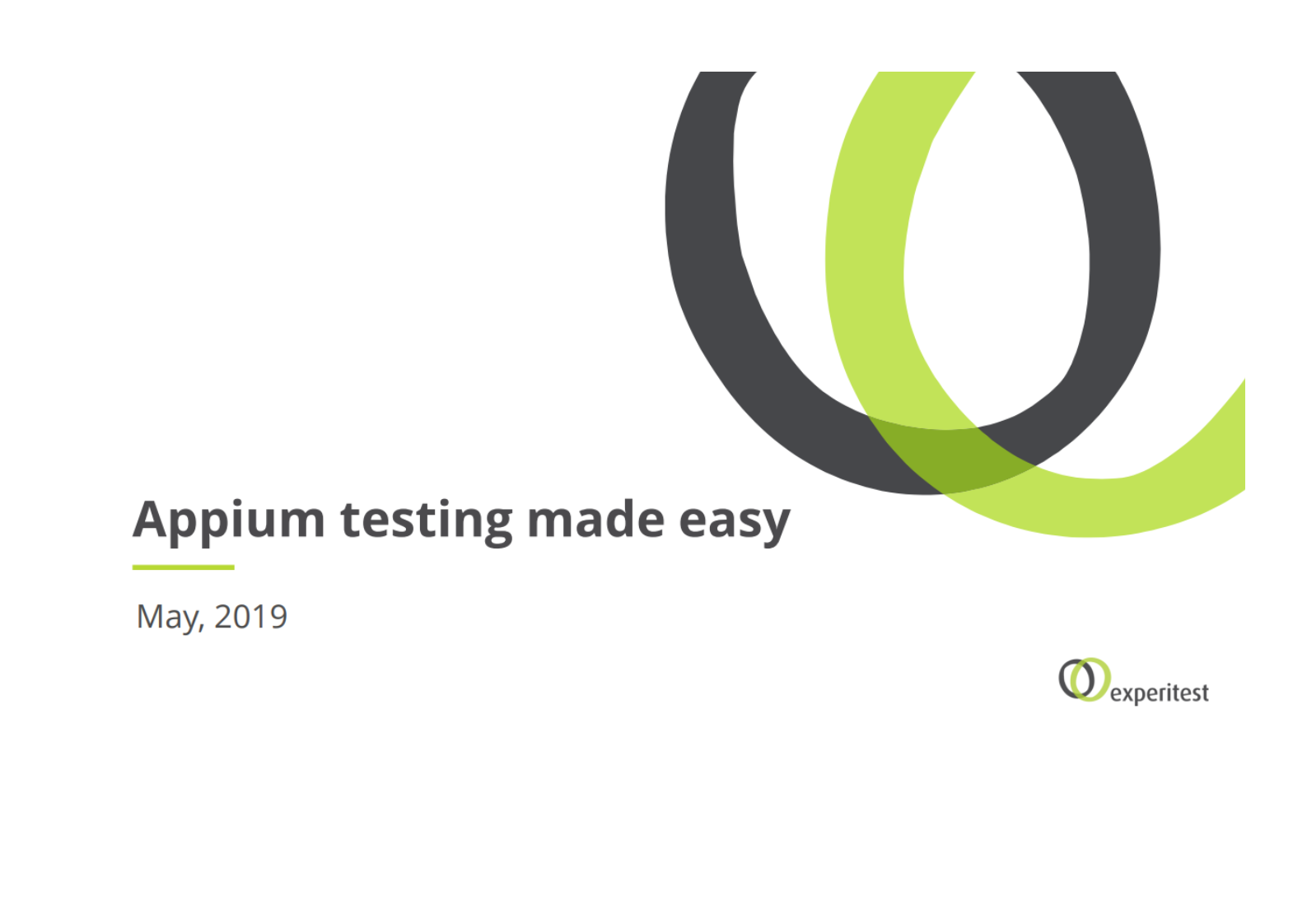 Free Tutorial: Appium Testing Made Easy