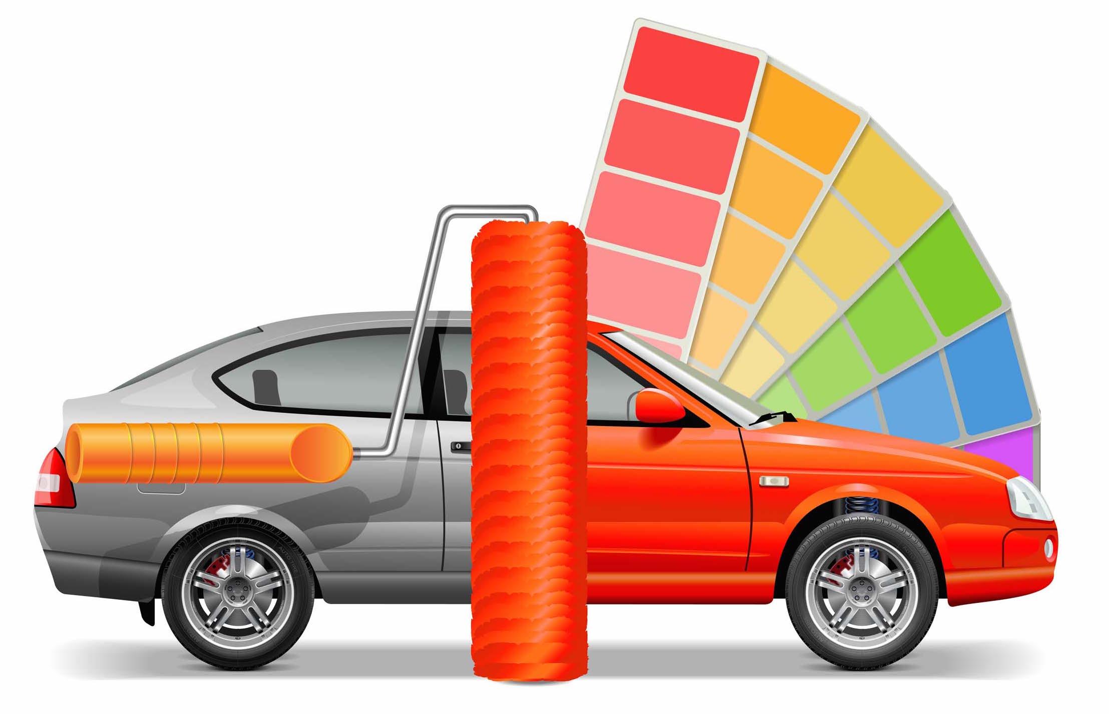 Encuentra el código de colores de la pintura del coche