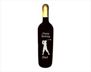 Golfer_Engraved_Wine_Bottle