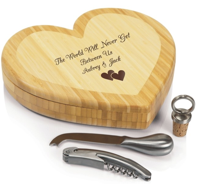 Personalized Engraved Heart Shaped Cheeseboard for Valentines Day_0.jpg