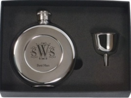 engraved_round_stainless_steel_flask