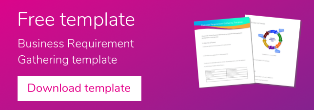 Free Business Requirement Gathering Template Claromentis