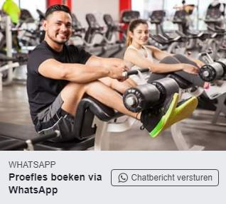 Voorbeeldadvertentie Whatsapp