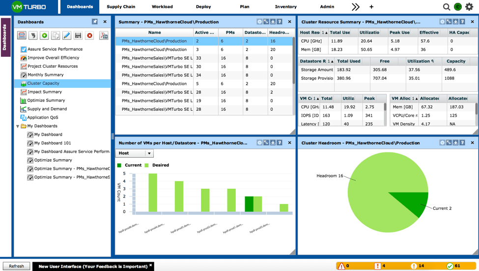 Operations Manager 5 6 User Interface Improvements for Large