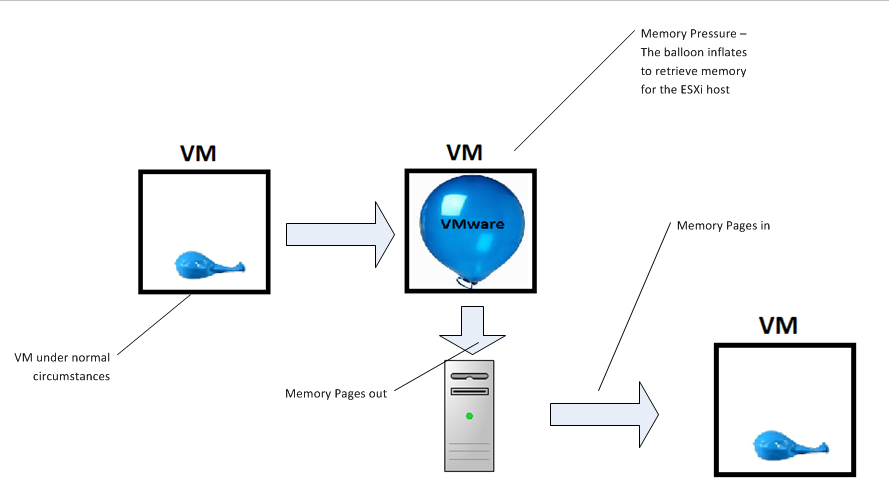 memory management implications when virtualizing the lamp