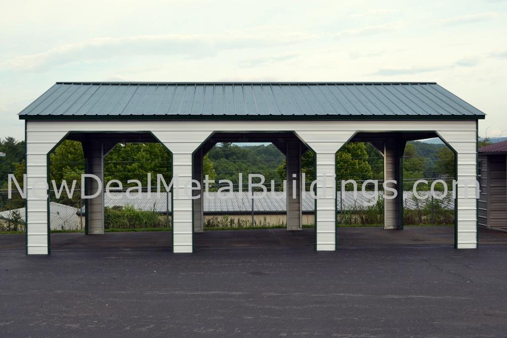Metal carports designs online metal buildings erected for Design carport online