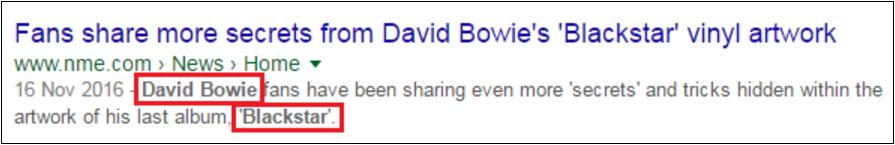 Example of keyword-bolding in a meta description