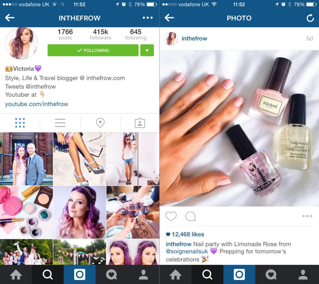 Influencer Marketing instagtram