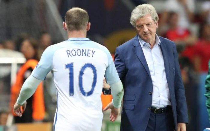 Roy Hodgson with Rooney, credit to telegraph.co.uk