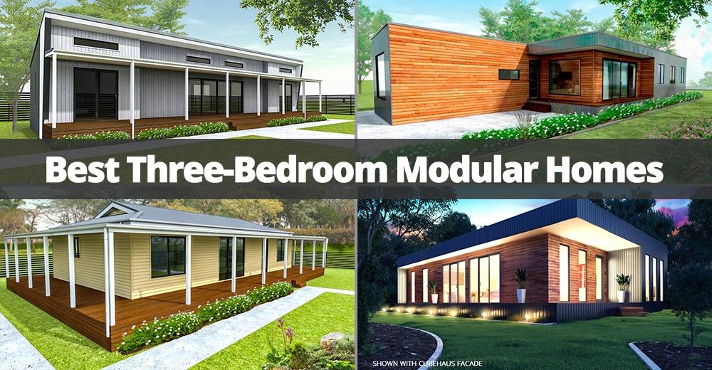 best three bedroom modular homes