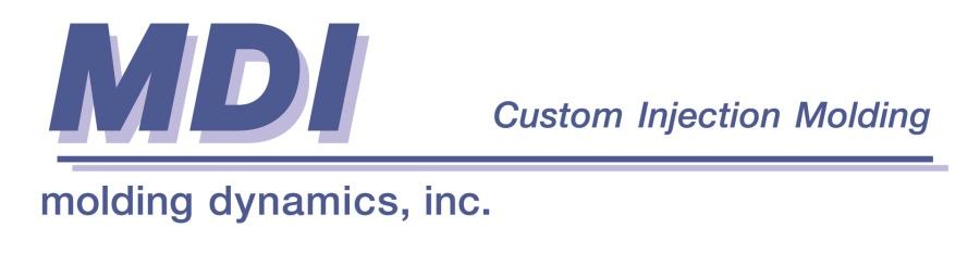 Plastic Injection Molding Capabilities | Molding Dynamics, Inc