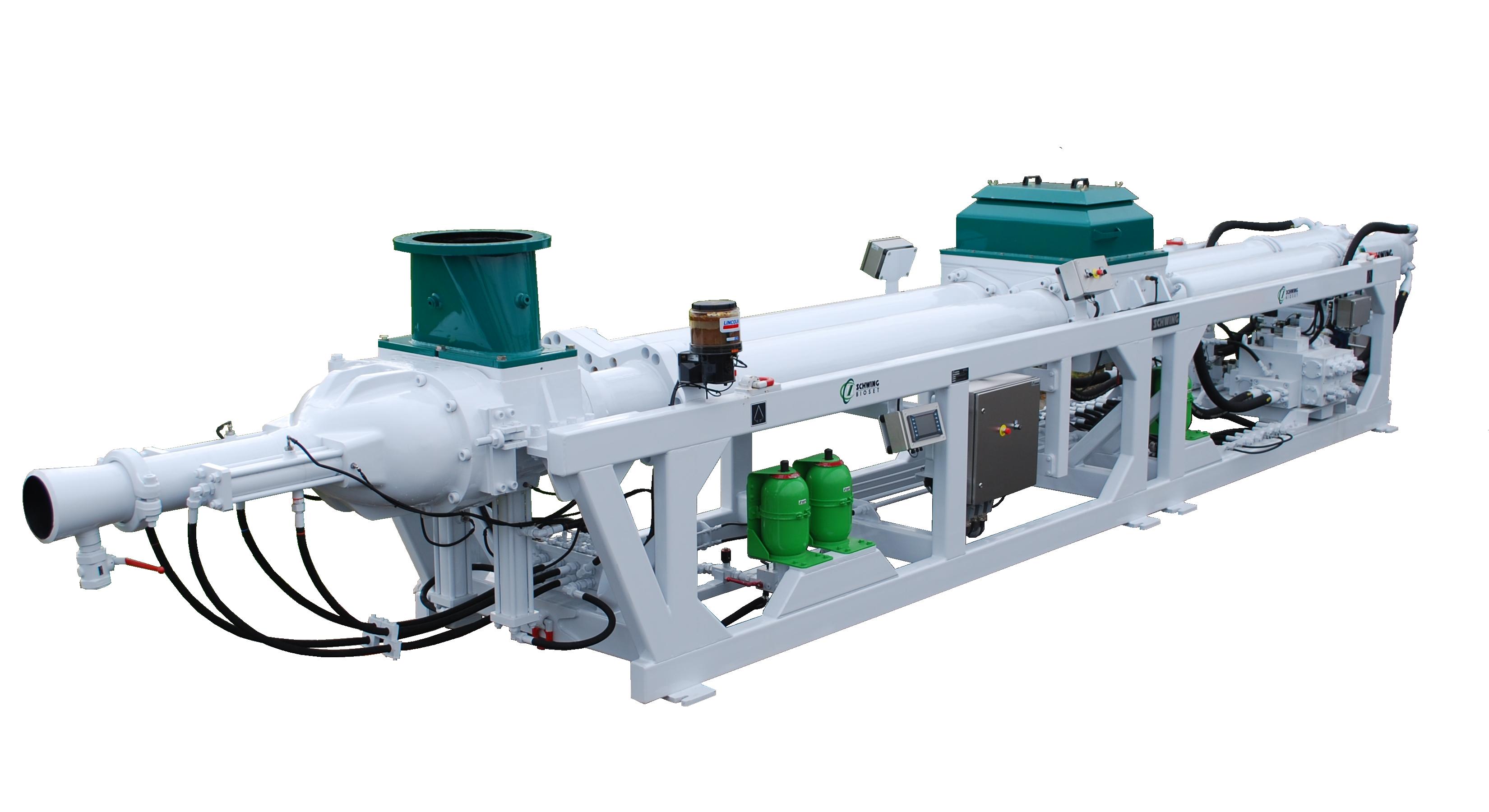 315 Mining Pump - Transparent