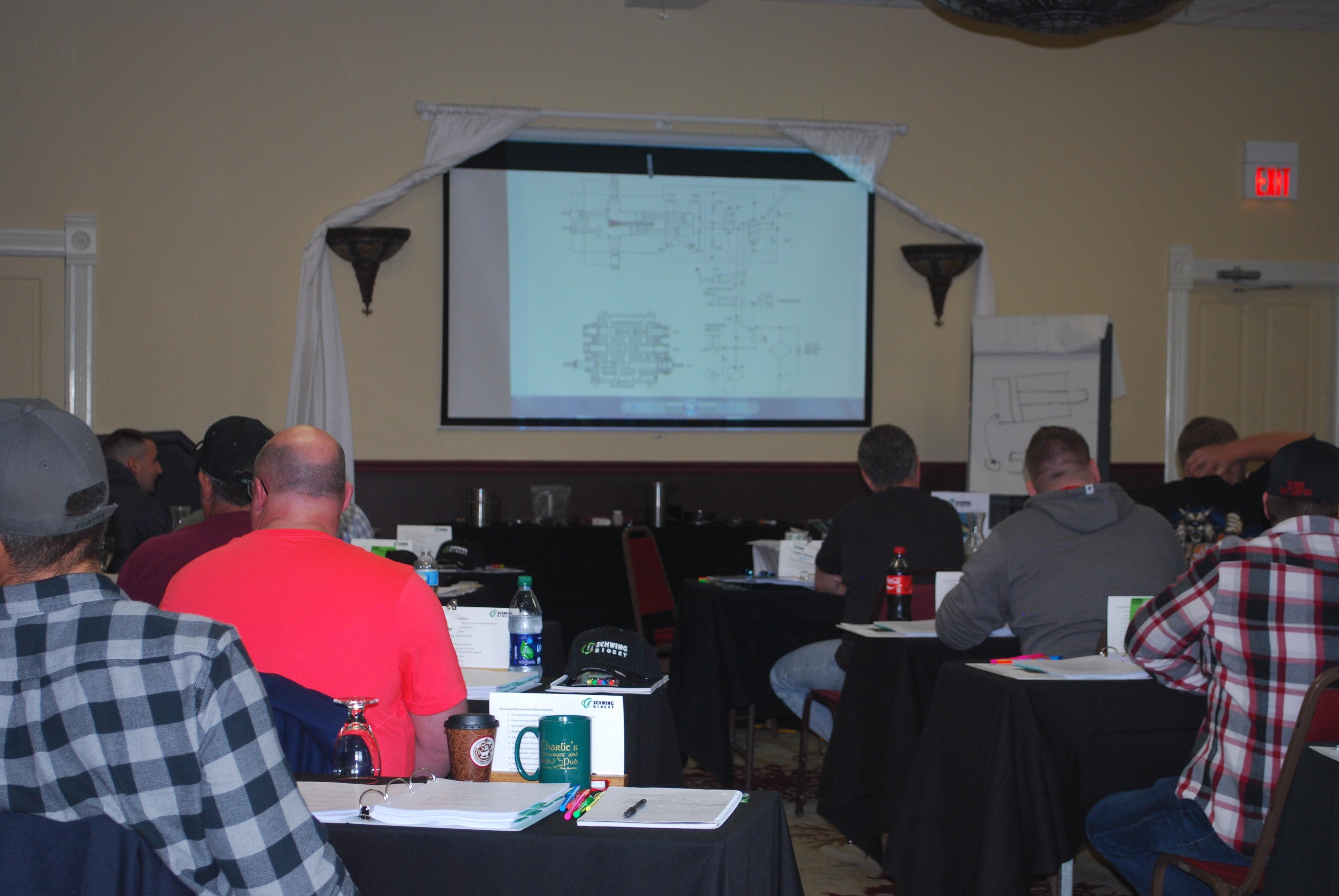 Schwing Bioset Pump Training