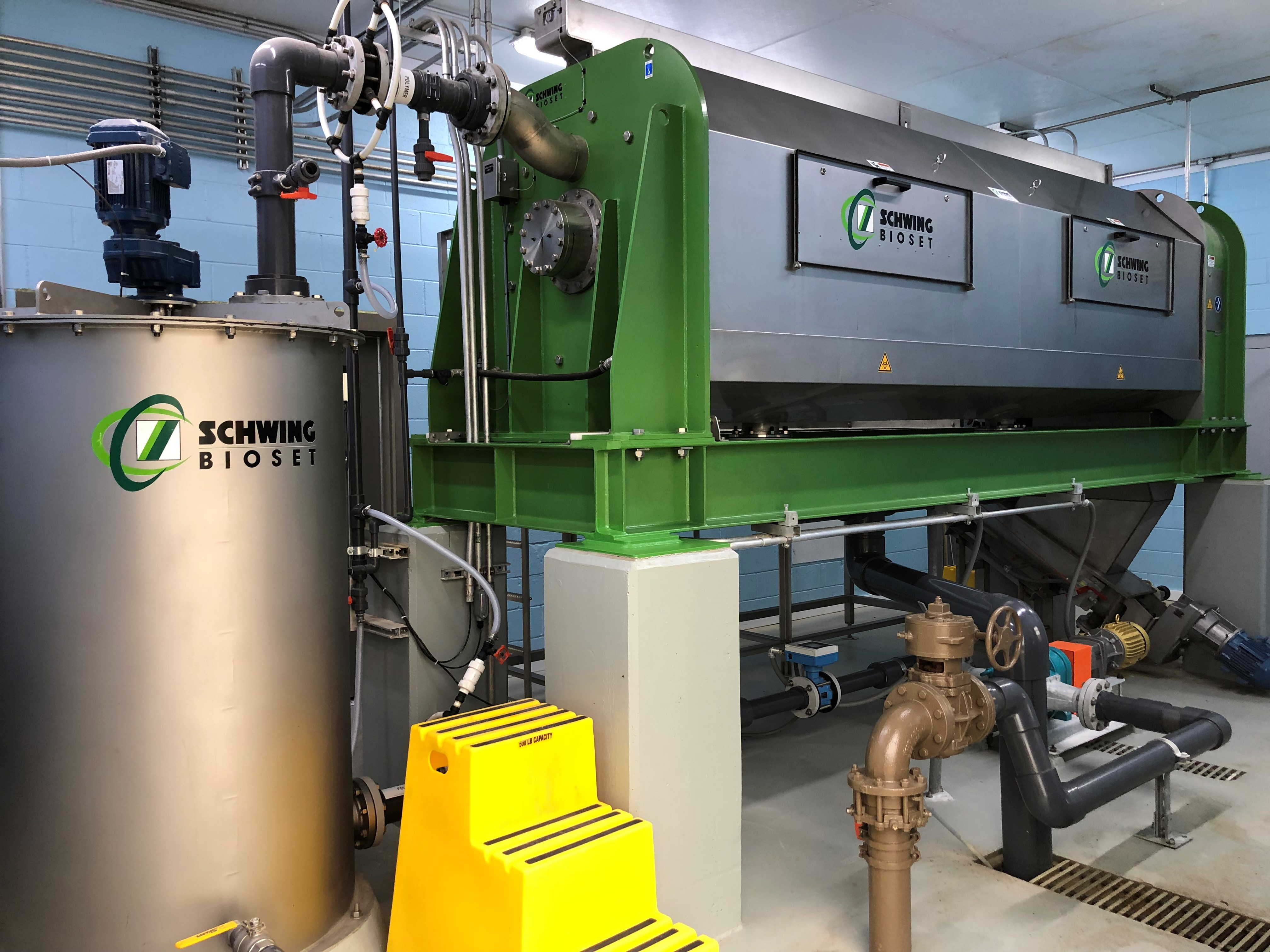 Decatur Dewatering Screw Press