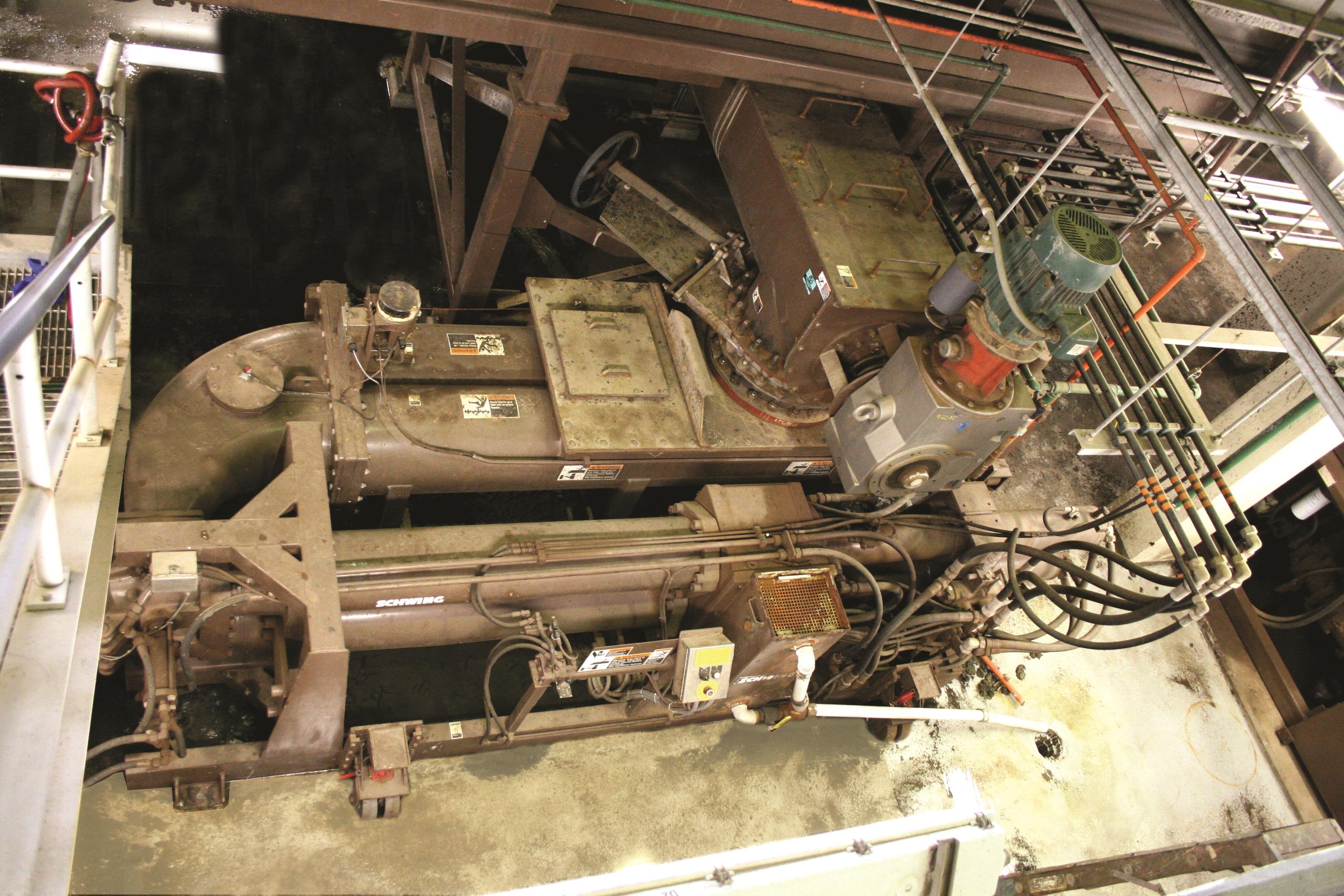 Schwing Bioset Detroit WWTP Solids Pump
