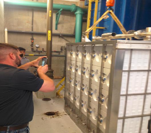 New Membrane Bioreactor at Manor Water Reclamation Facility