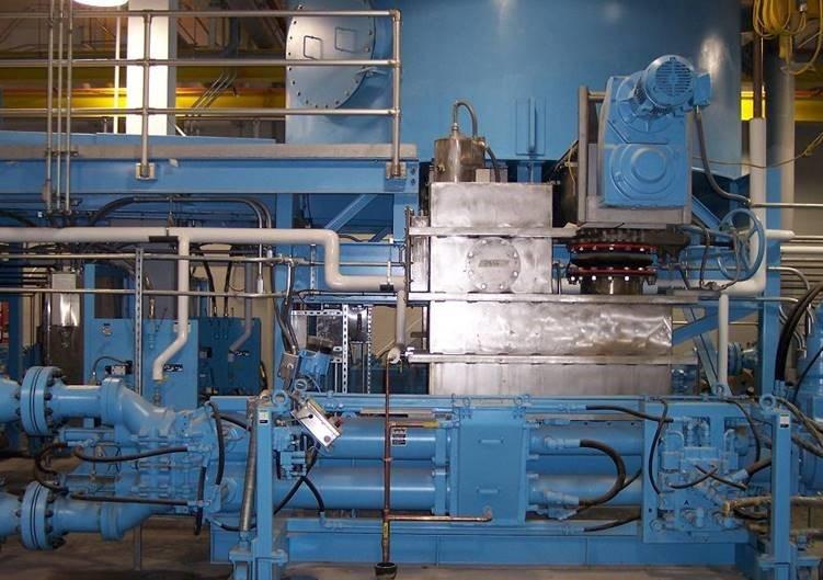 WWTP Schwing Bioset Piston Pump