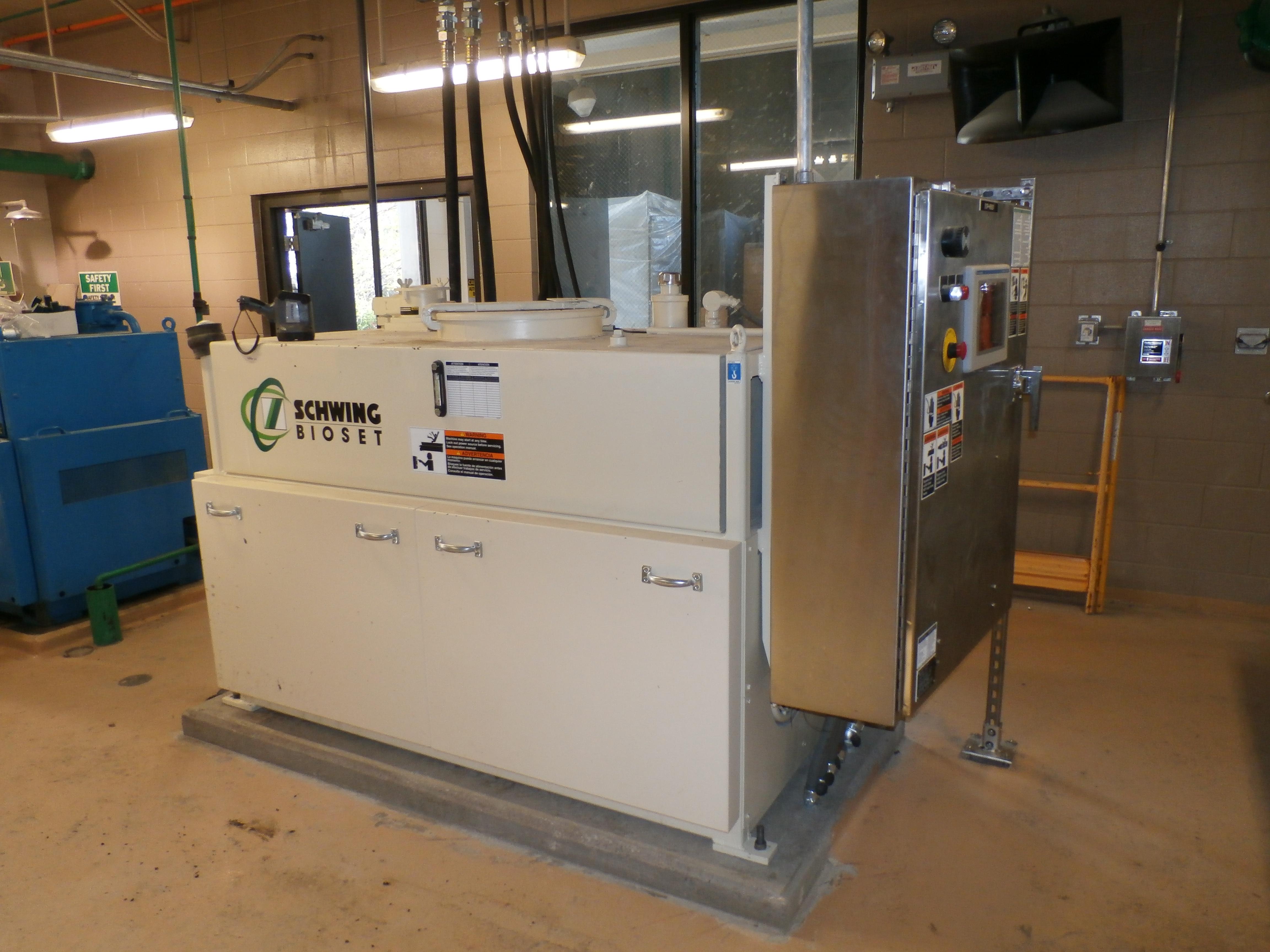 Schwing Bioset Hydraulic Power Pack