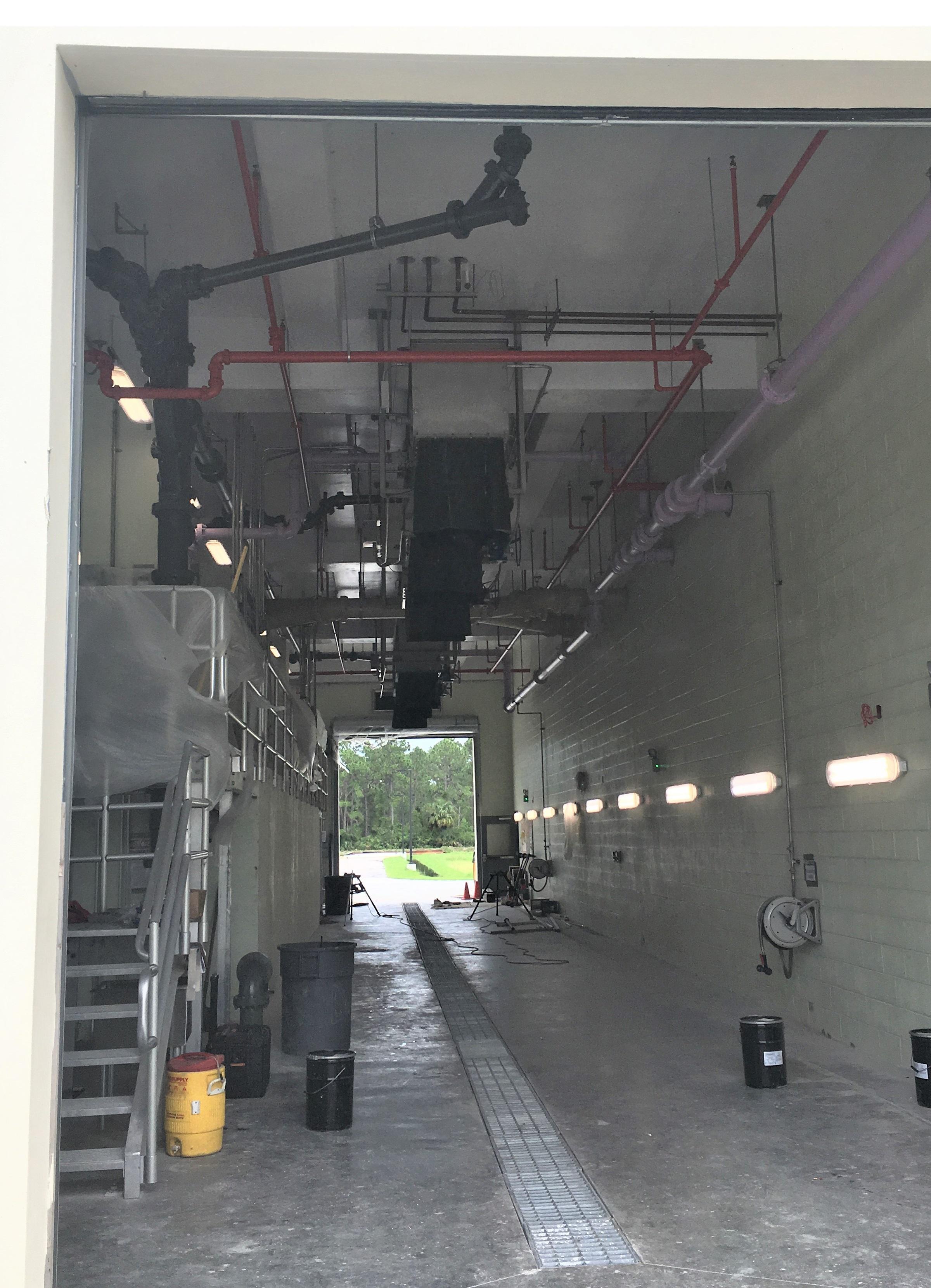 Schwing Bioset Biosolids Truck Loading