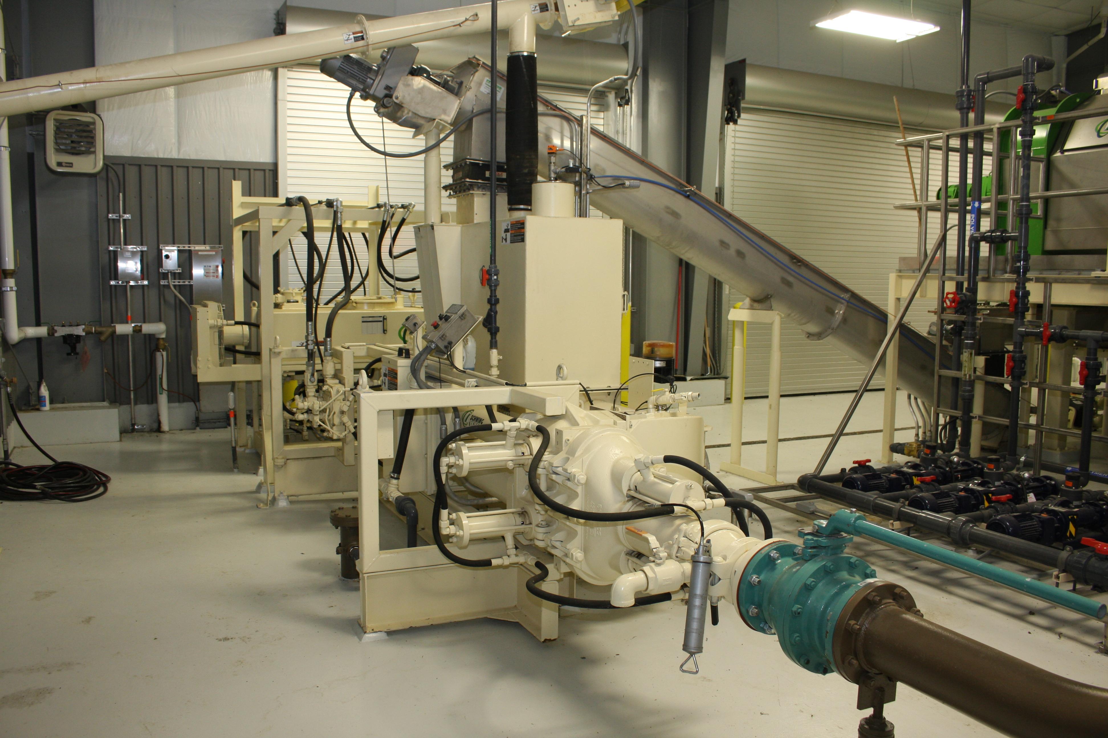 Schwing Bioset Municipal Pump