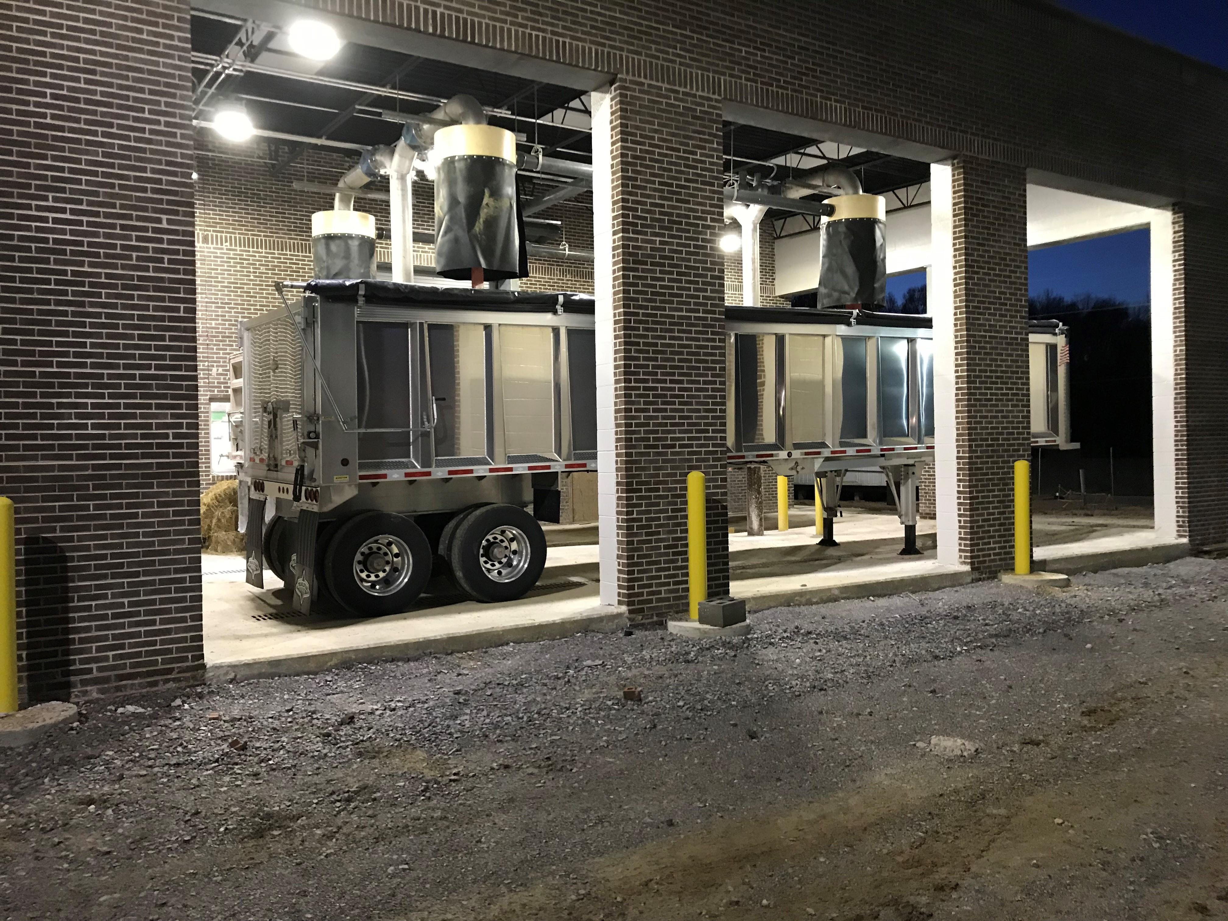 Schwing Bioset Truck Loading