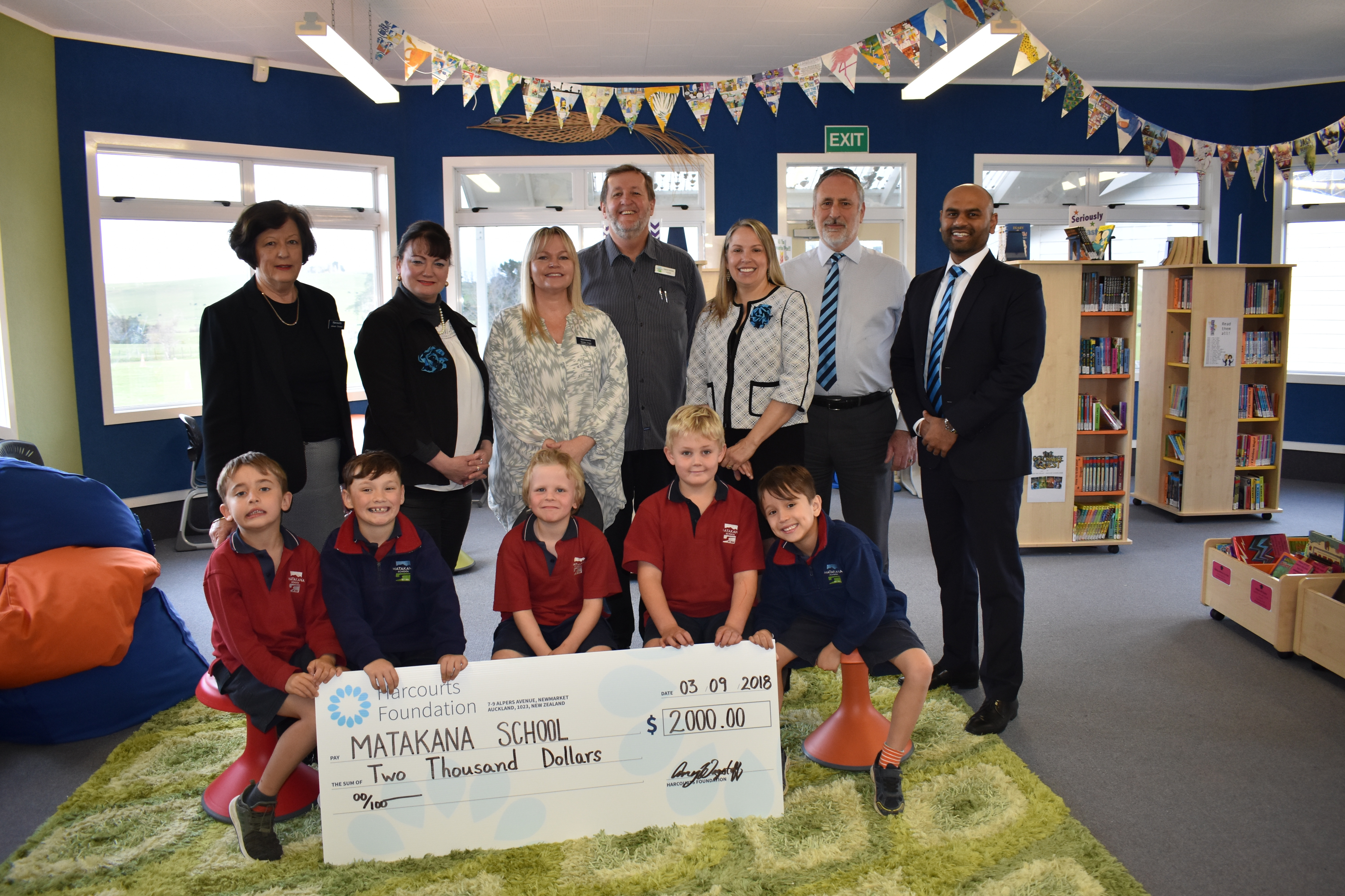 Donation to local school will enable children's learning