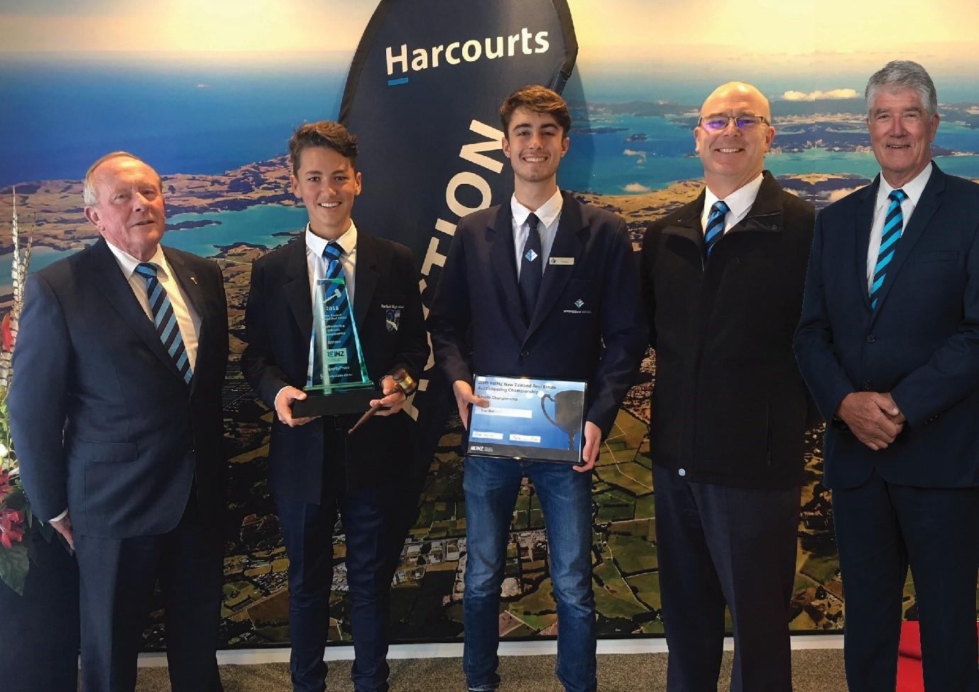 REINZ Secondary Schools Auctioneering Championships 2018