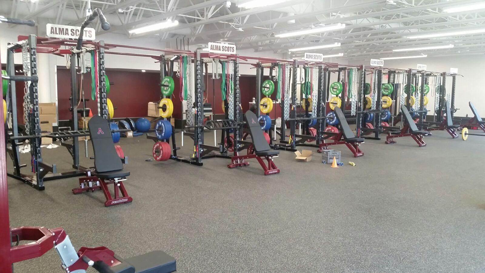 Alma College Weight Room