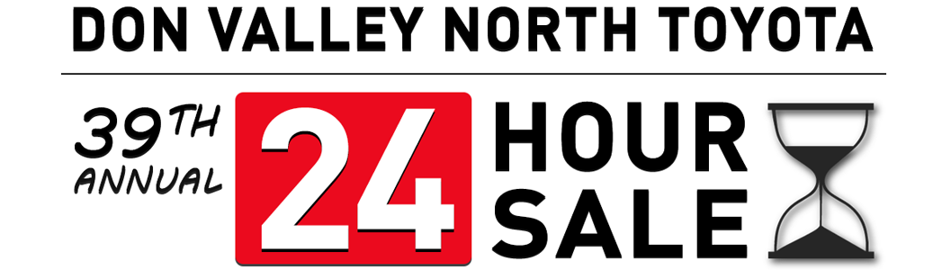 Don Valley North Toyota 24 Hour Sale