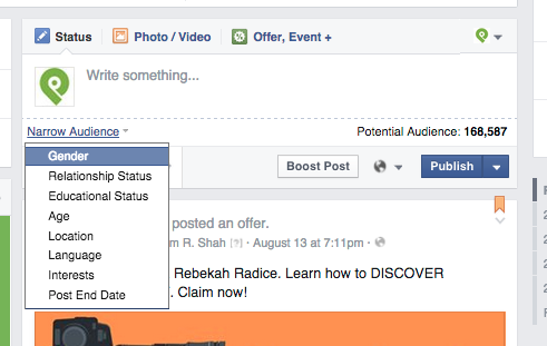 Facebook Engagement Hacks: Targeting 2