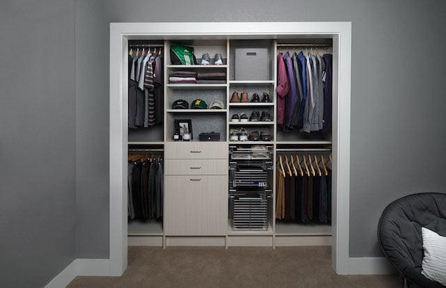 gorgeous custom small closet ideas washington