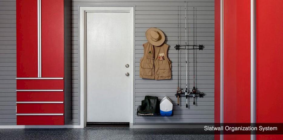 Garage Slat Wall Organization System