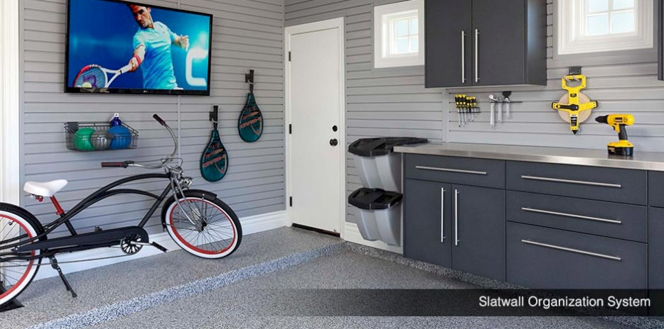 Garage Wall Organizer Systems Slatwall Storage