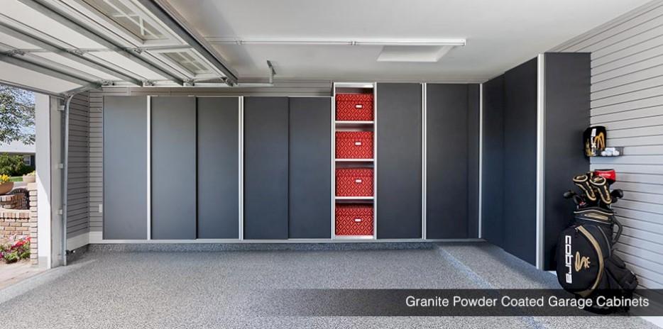Delightful ... Granite Powder Coated Garage Shelves U0026 Cabinets ...