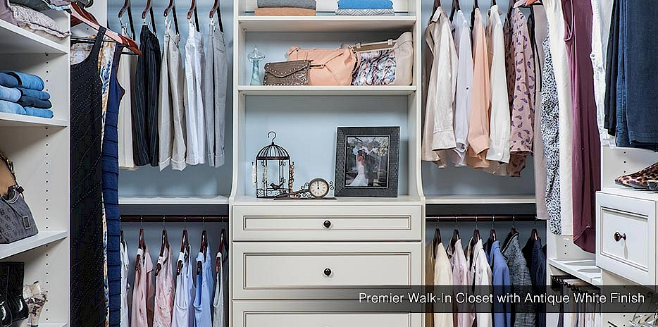 Captivating ... Walk In   Washington · Master Bedroom Closet   Antique Finish