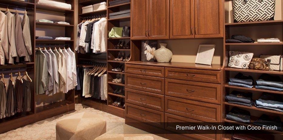 ... Custom Closet System   Walk In   Washington ...