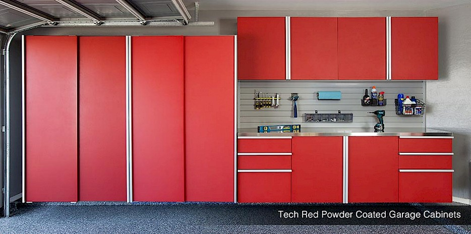 Exceptionnel Garage Storage Cabinets Shelving Wood Powder Coated Seattle