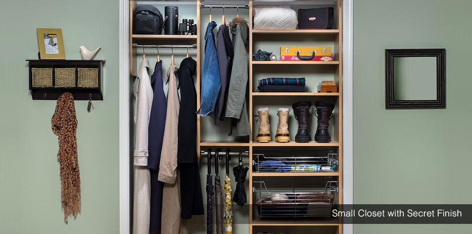 Marvelous ... Custom Small Reach In Closet With Secret Finish   Seattle, Redmond,  Kent ...