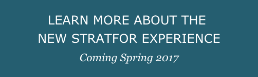 Learn More About The New Stratfor Experience-Coming Spring 2017
