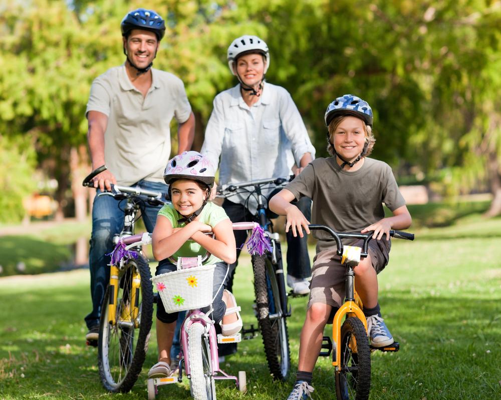 انواع الدراجات الهوائية، الدراجة الهوائية، ركوب الدراجات