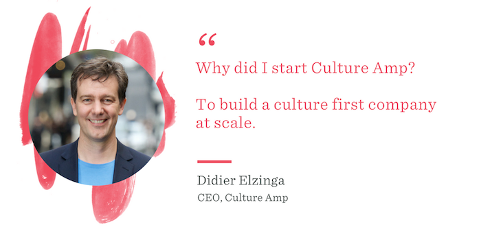 Didier Elzinga Culture First