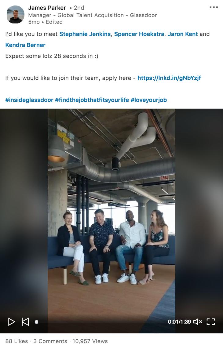Employer Branding on LinkedIn