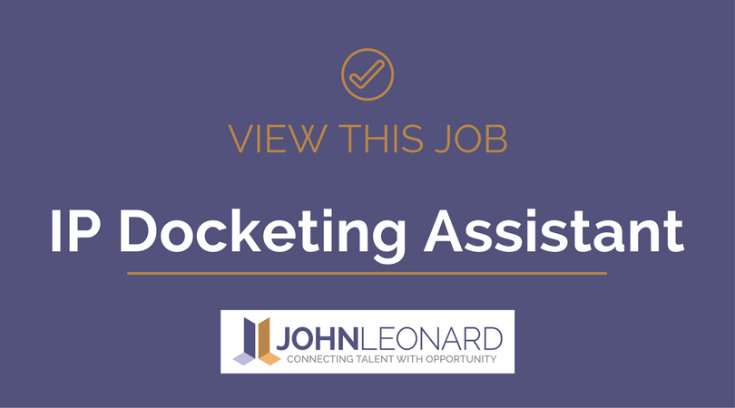 IP Docketing Assistant #25767